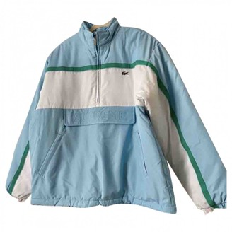Lacoste X Supreme Blue Jacket for Women