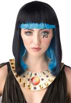 California Costumes Women's Egyptian Sapphire Wig, Black/Blue