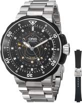 Oris Men's 76176827154RS Moonpointer Analog Display Swiss Automatic Watch