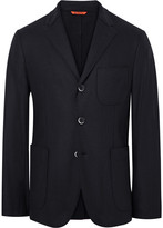 Barena - Blue Slanegà Unstructured Wool-blend Blazer