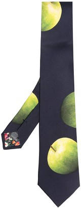 Paul Smith Apple Print Tie