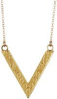 Gorjana 18K Gold Plated Shea Reversible Pendant Necklace