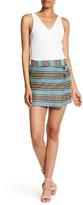 Karen Millen Geo Basket Weave Skirt