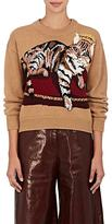 Dolce & Gabbana Women's Cat-Motif Cashmere-Blend Sweater