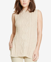 Polo Ralph Lauren Cable-Knit Tunic Sweater