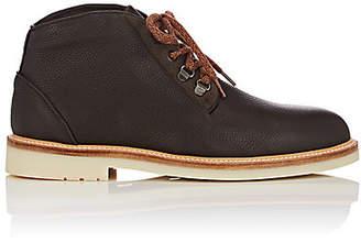 Loro Piana Men's Aspen Walk Leather Chukka Boots - Beige, Tan