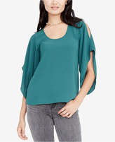 Rachel Roy Cold-Shoulder Flutter Top, Created for Macy's