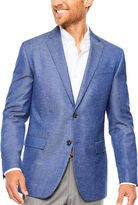 Jf J.Ferrar JF Blue Chambray Sport Coat- Slim