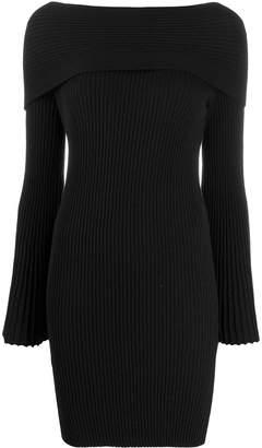 Twin-Set Jacquard inlay sheath dress