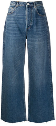 Boyish Charley Wide Leg Denim Jeans