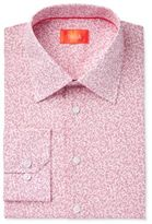 Tallia Men's Fitted Small Floral Printed Ground Dress Shirt