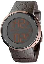 Gucci I 44mm Digital Rubber Strap Watch-YA114209 Watches