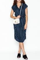 En Creme encreme Sleeveless Stripe Dress