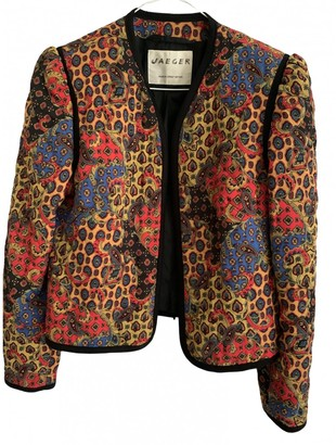 Jaeger Multicolour Jacket for Women Vintage