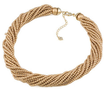 Carolee Gold-Tone Faux Pearl Necklace