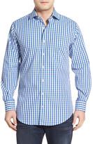Peter Millar Seaside Collection Check Regular Fit Sport Shirt