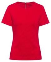 HUGO Slim-fit top in 3D-structured stretch jersey