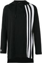 Y-3 striped detail hoodie