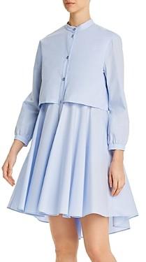 Giorgio Armani Emporio Cotton Popover Dress