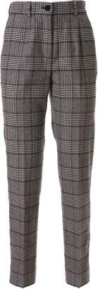 Dolce & Gabbana Tartan Print Trousers