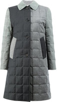 Thom Browne quilted patchwork down coat