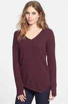 Feel The Piece Asymmetrical Cashmere Sweater
