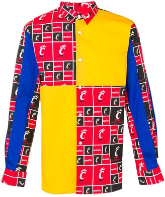 Comme Des Garçons Shirt Boys Stars print shirt