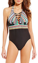 Gianni Bini Prismatic One-Piece