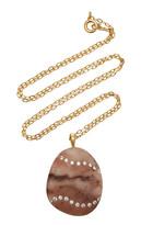 Cvc Stones Haze 18K Gold, Diamond And Stone Necklace