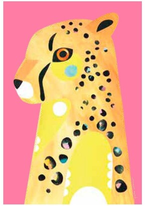 Maxwell & Williams Pete Cromer Wildlife Tea Towel 50x70cm Cheetah Baby