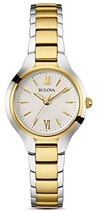 Bulova Classic Two-Tone Watch, 28mm