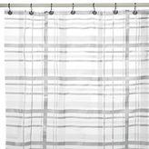 Bed Bath & Beyond Tartan Plaid PEVA 70-Inch x 72-Inch Shower Curtain