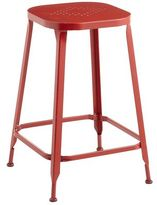 Pier 1 Imports Weldon Red Backless Counter Stool