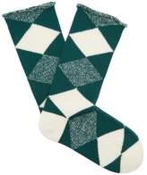 Burberry Argyle-knit wool socks