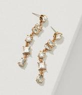 LOFT Constellation Crystal Drop Earrings