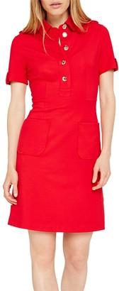 Damsel in a Dress Clio Tunic Dress, Red