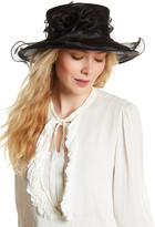 San Diego Hat Company Derby Organza Dress Hat