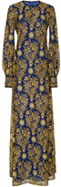 Tory Burch Alice Metallic Lace Dress