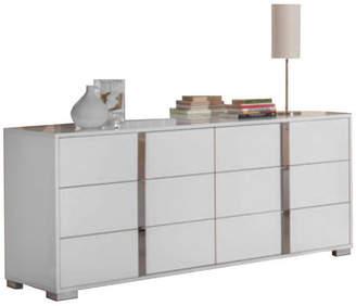 Vig Furnitures Modrest San Marino Modern Dresser, White