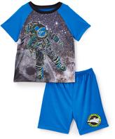 Komar Kids 4-D Space Sleep Tee & Shorts - Toddler & Boys