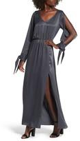 Leith Women's Split Sleeve Maxi Dress