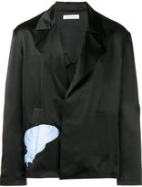 J.W.Anderson relaxed fit snail jacket - men - Silk - 46