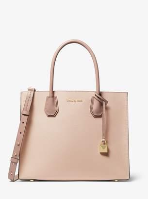 MICHAEL Michael Kors Mercer Large Tri-Color Pebbled Leather Tote Bag
