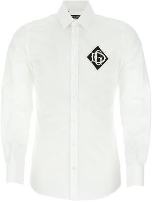 Dolce & Gabbana Monogram Logo Patch Shirt