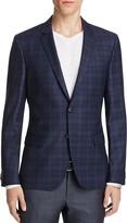 HUGO Tonal Plaid Slim Fit Sport Coat