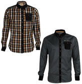 Rock Revival Mens Rock & Revival Button Up Lomond + Wardie Collared Casual Shirts Sizes S-Xl