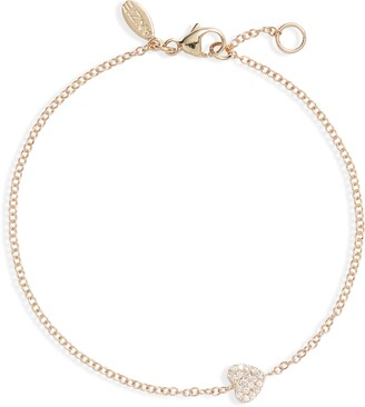 Anzie Love Letter Diamond Bracelet