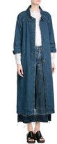 MiH Jeans M i H Belted Denim Coat