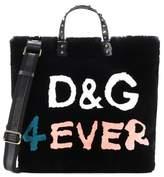 Dolce & Gabbana Beatrice fur shopper