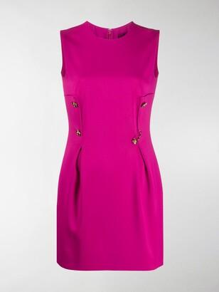 Versace Safety Pin short dress